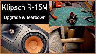 Klipsch R-15M - Upgrades & Teardown