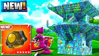 *NEW* PORT-A-FORTRESS GAMEPLAY in Fortnite Battle Royale!