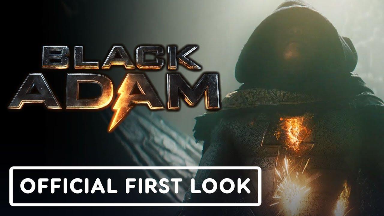 Download Black Adam - Official First Look Teaser Trailer | DC FanDome 2021