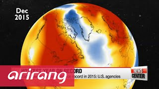 2015 was hottest year on record: U.S. agencies