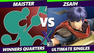 S@X 370 Online Winners Quarters - Maister (Game & Watch) Vs. Zsaih (Ike) Smash Ultimate - SSBU