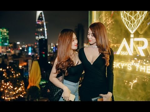 Air 360 Sky Bar in Ho Chi Minh City Vietnam – Bars and Nightlife Girls in Saigon Redlight