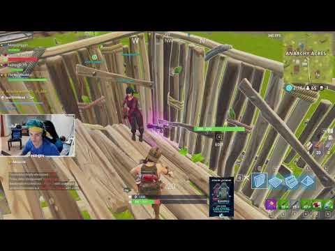 Ninja Plays Fortnite with Drake, Travis Scott, & JuJu | Full Stream