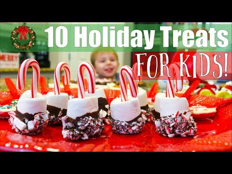 10 Holiday Treats FOR KIDS!   All Gluten Free!