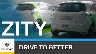 ZITY: A large electric car sharing platform in Spain!
