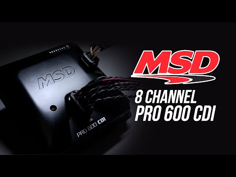 MSD Pro 600 CDI 8 Channel Ignition