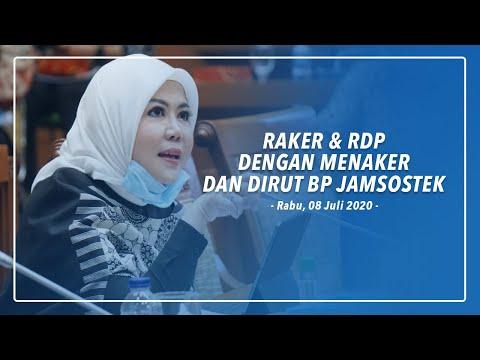 RAKER & RDP Dengan Menaker dan Dirut BP Jamsostek