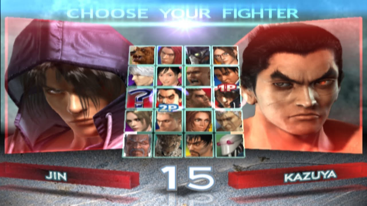 Tekken 4 All Characters Ps2 Youtube