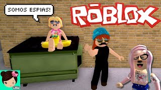 kidnapped my baby in Roblox - we are spies in Bloxburg - Titi games