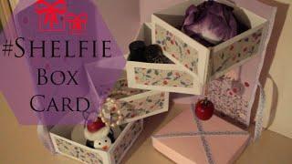 Shelfie Box Card - Diy
