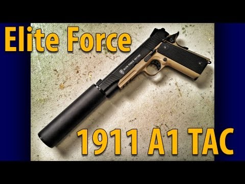 Elite Force 1911 A1 Tactical - A Killer CO2 Airsoft Pistol