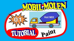Cara Menggambar Mobil Molen
