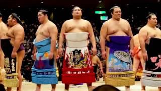 The great Yokozuna! Harumafuji's Retirement Ceremony at Kokugikan Sumo Stadium. 2018.09.30東京両国国技館.