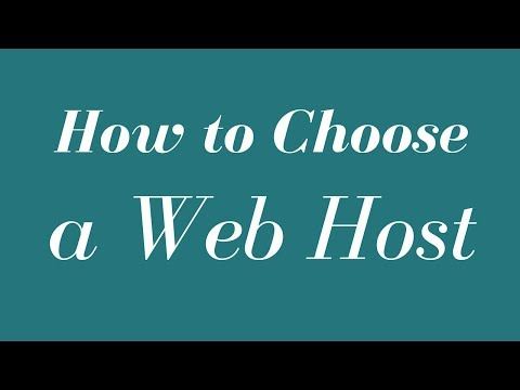 How to Choose a Web Host –  Fast WordPress Web Hosting