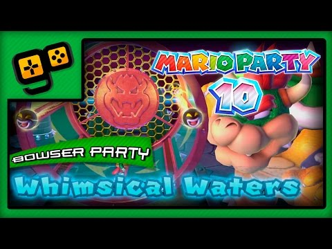 Mario Party 10 - Bowser Party - Whimsical Waters