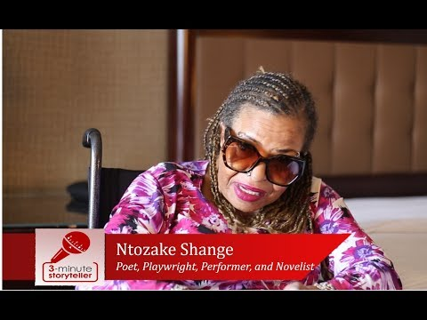 NTOZAKE SHANGE, poet, playwright, performer, and novelist
