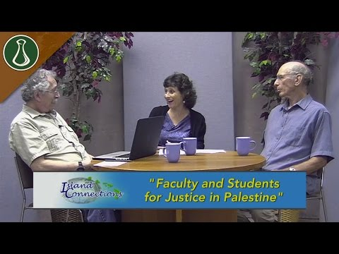 Island Connections: Faculty and Students for Justice in Palestine