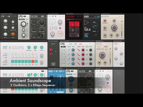 Reaktor 6 Blocks - Ambient Soundscape