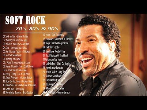 Lionel Richie ,Phil Collins, Air Supply, Bee Gees, Chicago, Rod Stewart - Best Soft Rock 70s,80s,90s - SOFT ROCK MUSIC