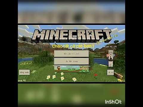 Video đầu tiên | Cách chơi Minecraft PE cùng bạn bè.