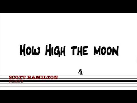 Scott Plays : How High The Moon (solo transcription)