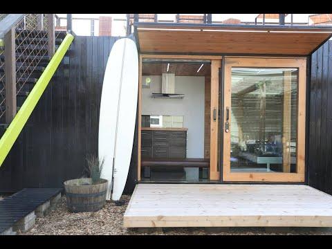 Beautiful Hokura PDX Container Home