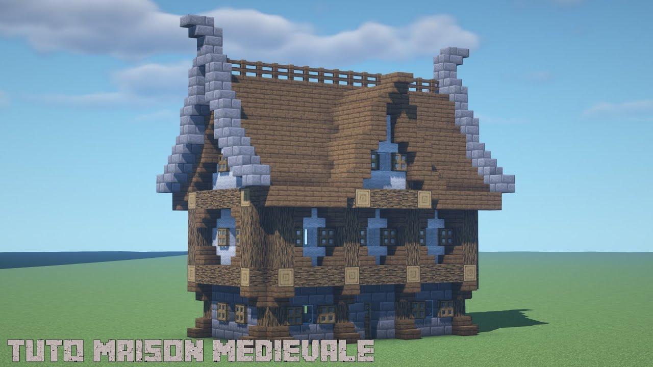 Comment Faire Une Maison Medievale Dans Minecraft Youtube