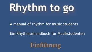 Rhythm to go - Einführung (deutsch)