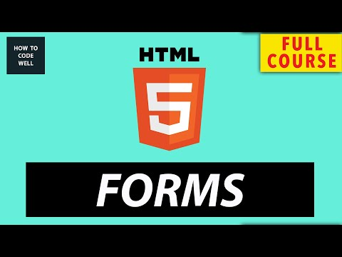 HTML 5 Forms For Beginners Full Course