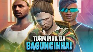 A TROPA DO JAMAICA REUNIDA! ft Loud Coringa, Piuzinho - GTA V RP CIDADE ALTA l MELHORES MOMENTOS!