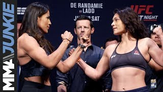 UFC on ESPN+ 13 ceremonial weigh in highlight