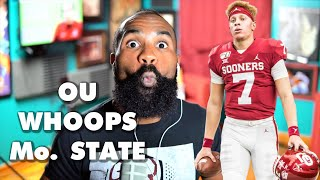 Instant reaction recap: Spencer Rattler and No. 5 OU cook and serve Missouri State Bears