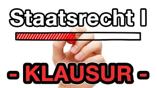 Klausur-Zusammenfassung - Staatsrecht I Staatsorganisationsrecht
