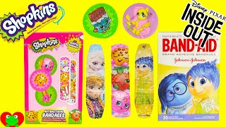 Shopkins Bandaids, Frozen, My Little Pony and More