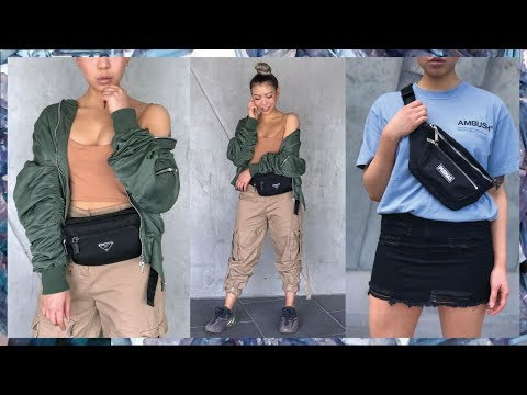 How To Style A Fanny Pack /Bumbag 2018 *Luxury VS Affordable*
