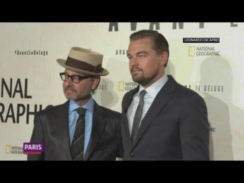 DiCaprio urges people to vote
