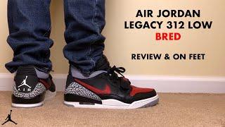 Air Jordan Legacy 312 Low Bred Black