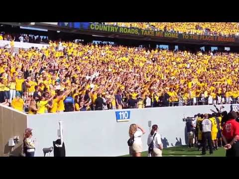 WVU-OK State 9/28/13 post-game