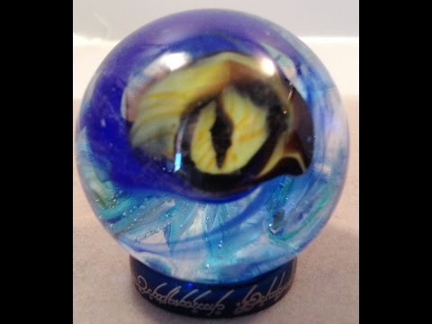 Cyclops Marble with Cobalt Blue