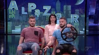 Al Pazar - Montana dhe Montela me makine - 5 Maj 2018 - Show Humor - Vizion Plus