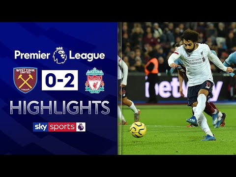 Liverpool see off Hammers to go 19 clear | West Ham 0-2 Liverpool | Premier League Highlights