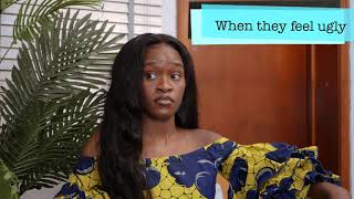 Different ways Girls React to compliments (Maraji's World)