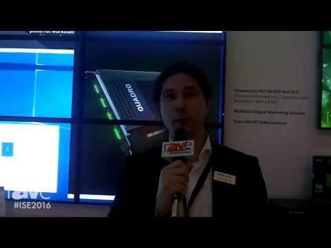 ISE 2016: PNY Technologies Highlights NVS 810 Digital Signage Solution