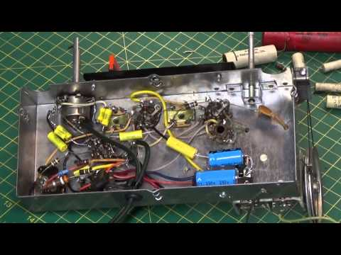 Motorola AM Tube Radio Repair