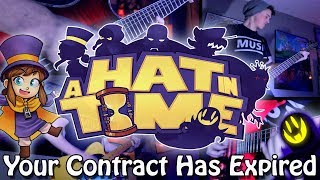 Your Contract Has Expired - A Hat in Time (Rock/Metal) Guitar Cover | Gabocarina96