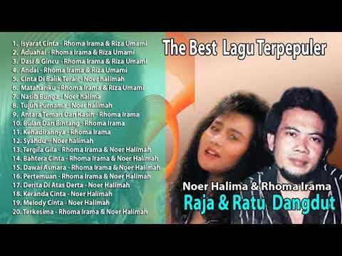 RAJA DAN RATU DANGDUT Rhoma Irama & Noor Halimah The Best Lagu Terpopuler Sepanjang Masa