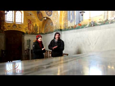 Song Improvisation by SacredFire Music in Chapel of Angels (Mont Ste-Odile, France)
