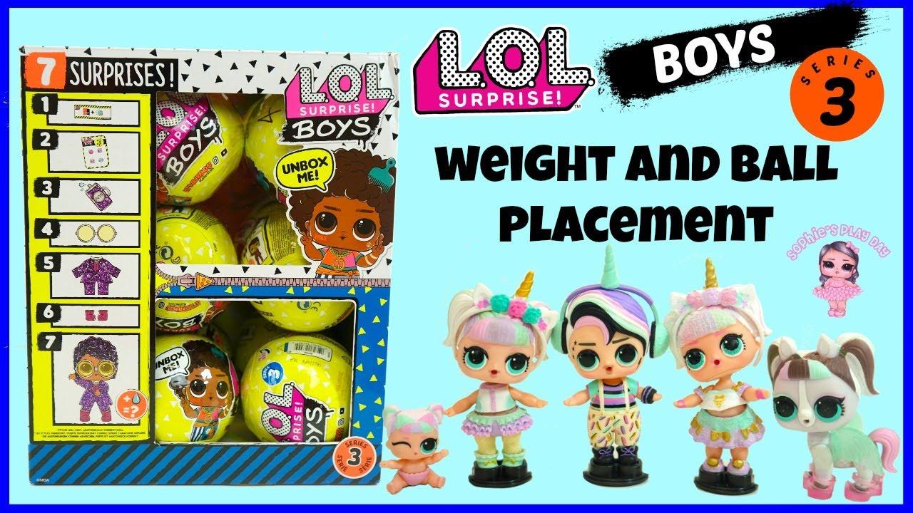 New LOL surprise series 3 boy Slick