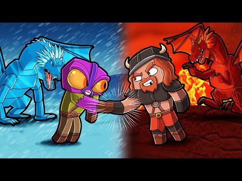 DEAL With FIRE NATION CHIEF! (Minecraft Dragons)