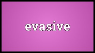 Evasive Meaning